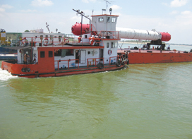 Inland Waterways Authority of India – Creating capacity for large scale water navigation