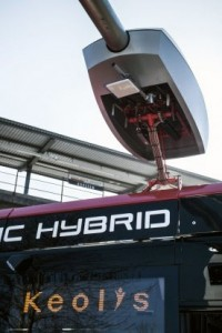 Charging technology for hybrid buses