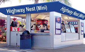 Toll plazas to have Food and Beverage kiosks