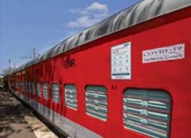 Indian Railways  at the time of COVID-19