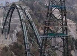 Indian Railways completes arch closure of Chenab Bridge.