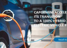 Capgemini vehicles to go fully electric